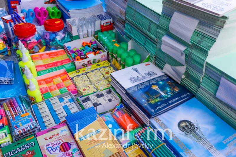 Алматыдағы  акция: 100 балаға мектеп құралдары берілді