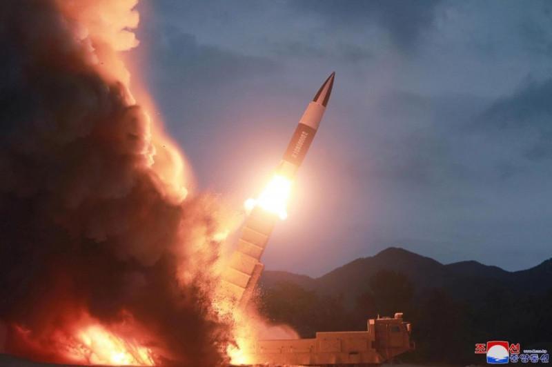 North Korea fires 2 ballistic missiles into Sea of Japan