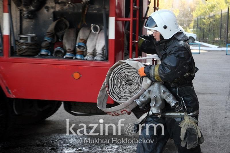 Очаг возгорания наугольномразрезе «Западный» в Караганде локализовали