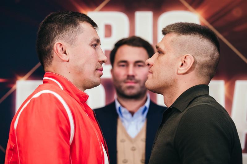 Головкин и Деревянченко подписались на допинг-тест для боя за титул чемпиона мира