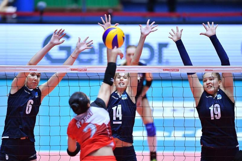Казахстанские волейболистки заняли пятое место на чемпионате Азии