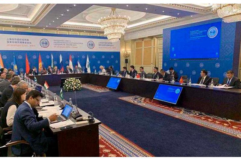 哈萨克斯坦代表团出席上合组织成员国国家协调员理事会会议