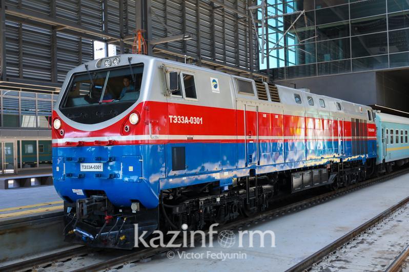 Дополнительные поезда запустят в Казахстане