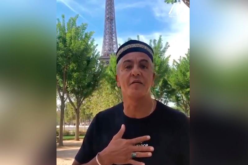 法国著名演员为哈萨克斯坦影迷朗诵阿拜诗歌