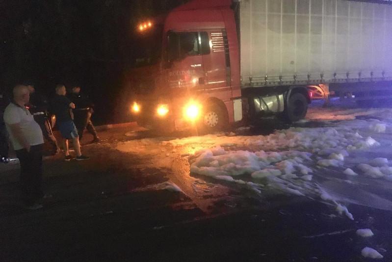 Водителя-дальнобойщика из Беларуси наказали в Кокшетау