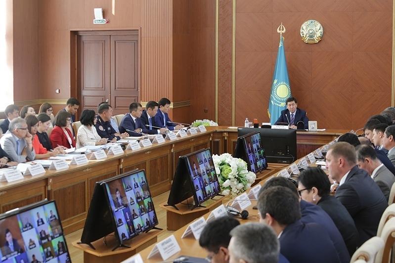 Ерлан Кошанов дал поручения по итогам визита Президента в Карагандинскую область
