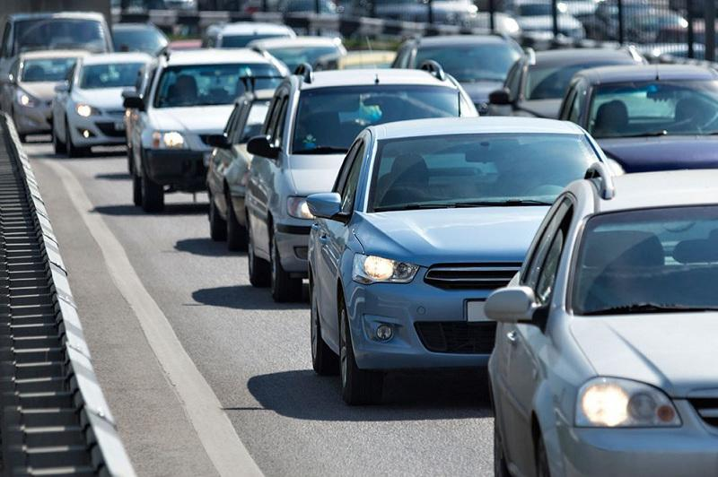 Алматының Саин көшесіндегі жол қозғалысына өзгерістер енгізілді