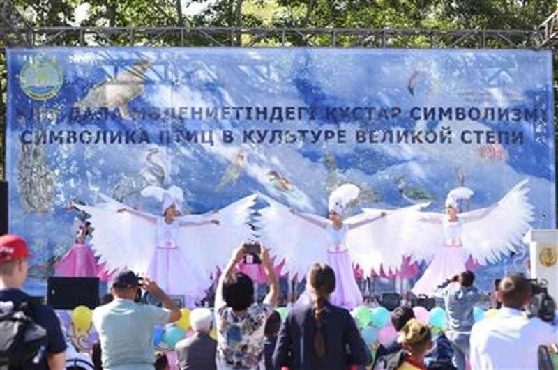 第一届鸟类节在哈萨克斯坦自然保护区举行