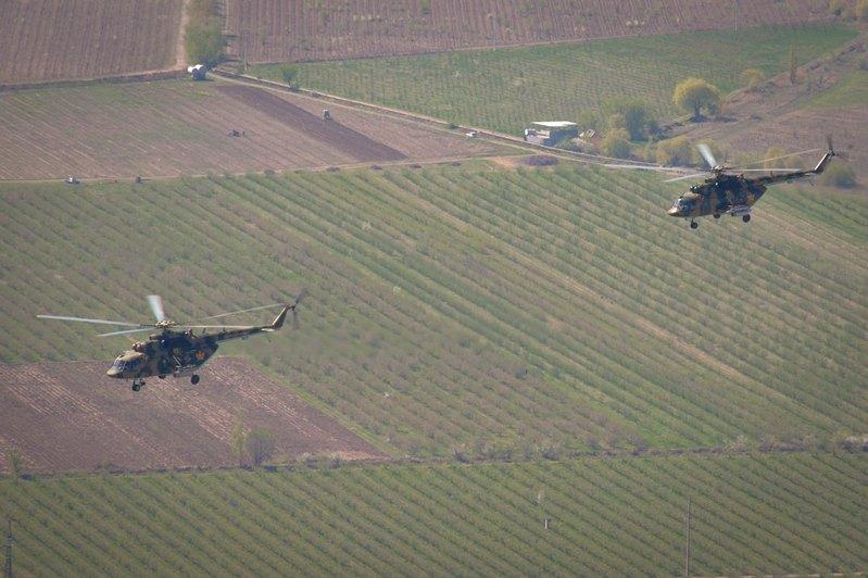 哈俄吉三国防空军联合军事演习开幕