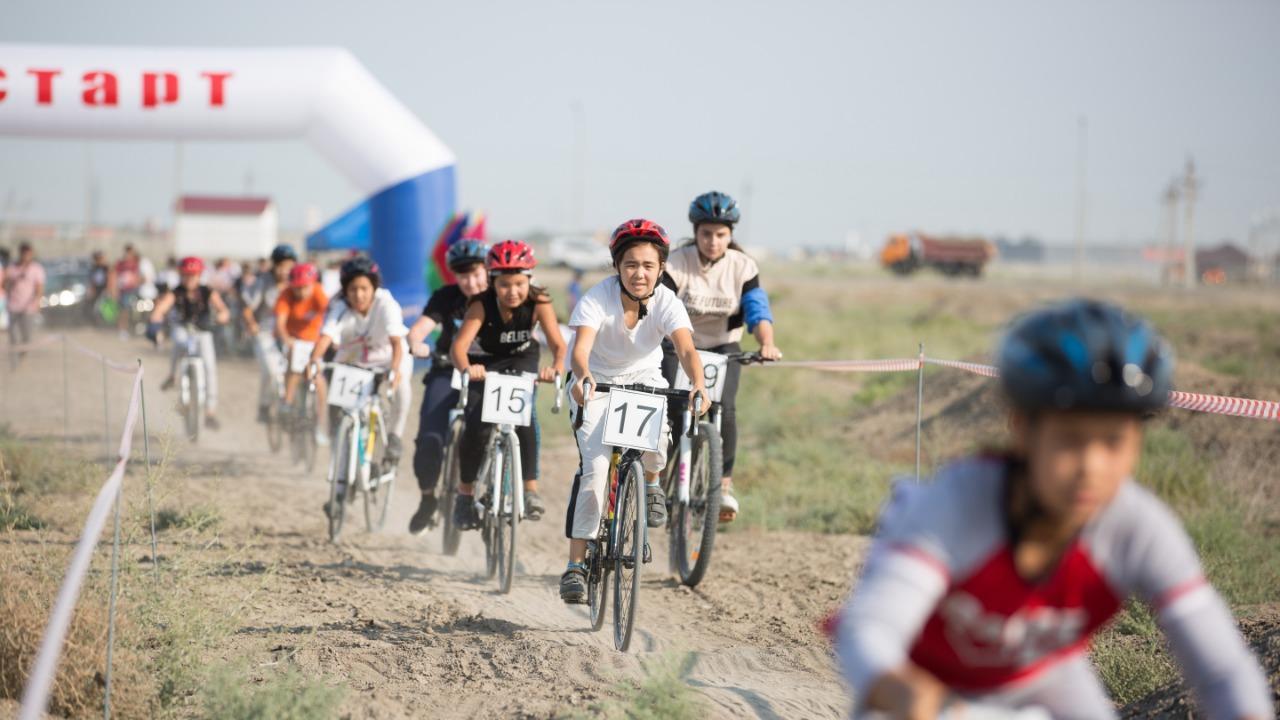Атырауда велокростан алғаш рет ашық біріншілік өтті