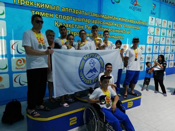 Акмолинцы завоевали три «золота» на Паралимпийских играх