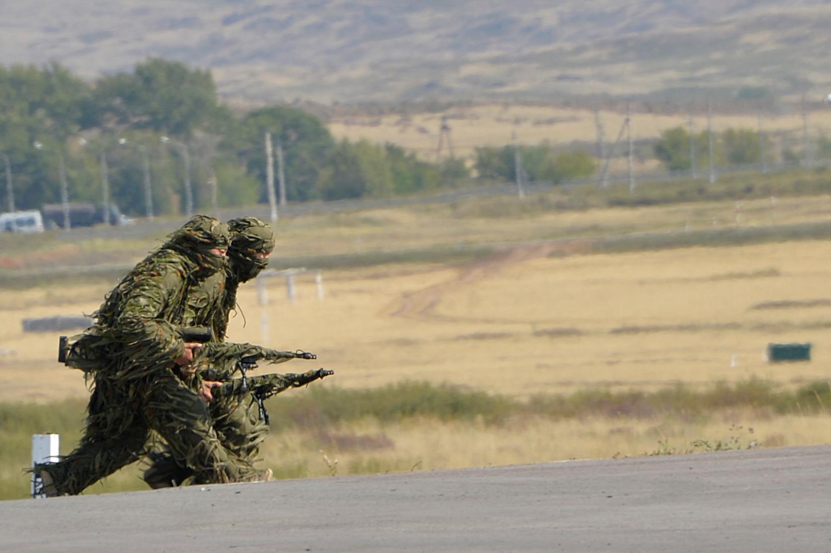 金鹰-2019国际狙击手竞赛在哈萨克斯坦开幕