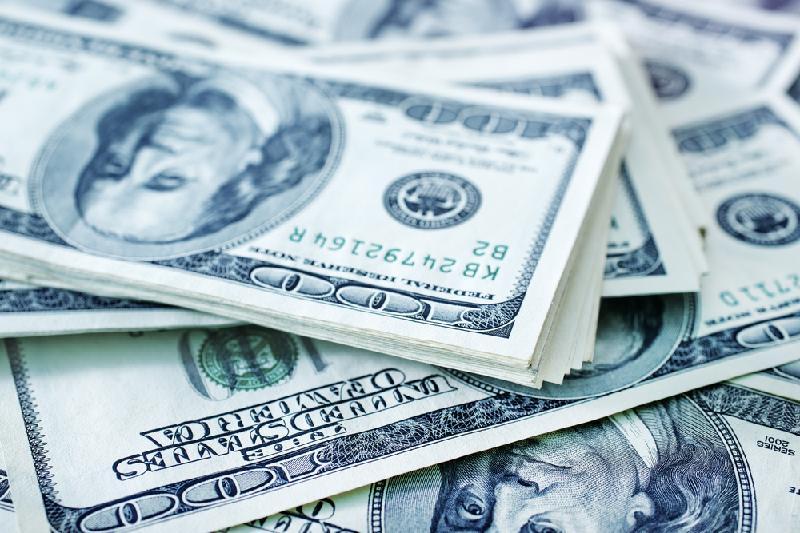 今日美元兑坚戈终盘汇率1:387.55