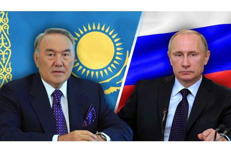纳扎尔巴耶夫与俄罗斯总统普京通电话