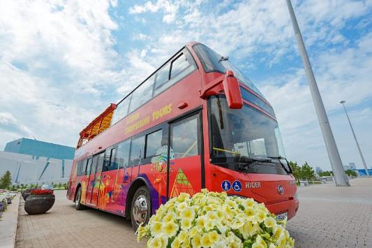 Астанада экскурсиялық автобустар көрікті жерлерді тегін аралатады