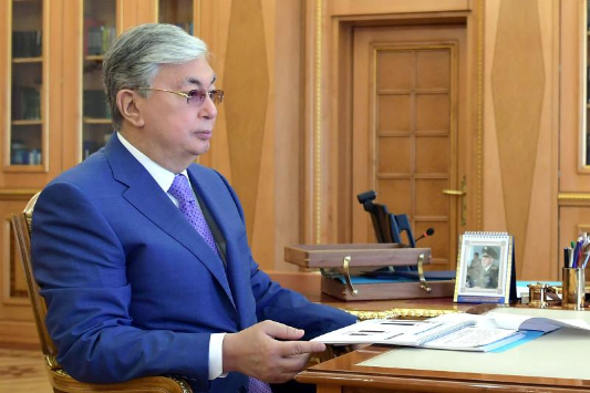 Мемлекет басшысы Ұлттық кеңестің мүшелерімен кездесті