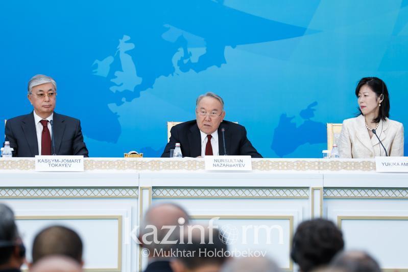 首任总统:塞梅核试验场的关闭是哈萨克人民期待了40年的抉择
