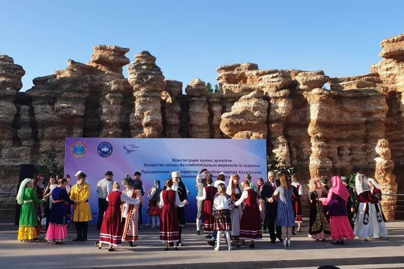 Концерт АНК ко Дню Конституции состоялся в Нур-Султане