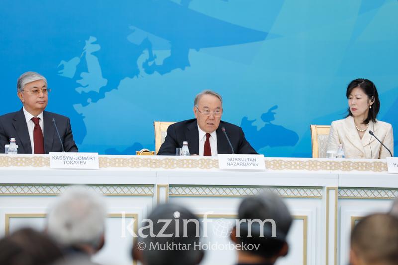 纳扎尔巴耶夫:自愿放弃核武器的国家应当得到必要的安全保障