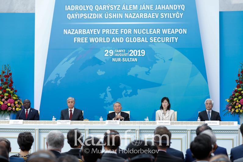 纳扎尔巴耶夫邀请世界核大国领导人在哈萨克斯坦会晤