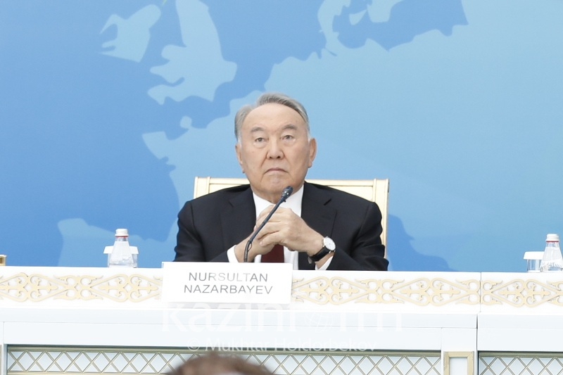 Nazarbayev suggests eliminating nuclear sites worldwide
