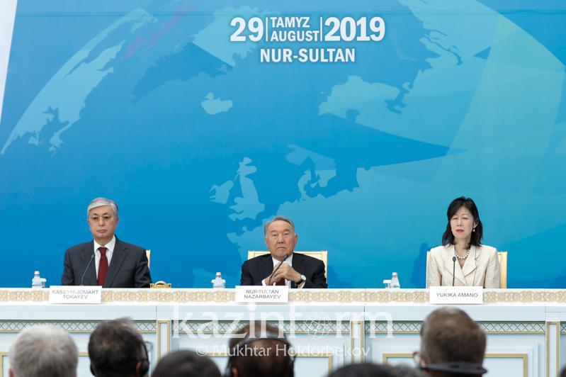 Нурсултан Назарбаев предложил ликвидировать ядерные полигоны во всех странах