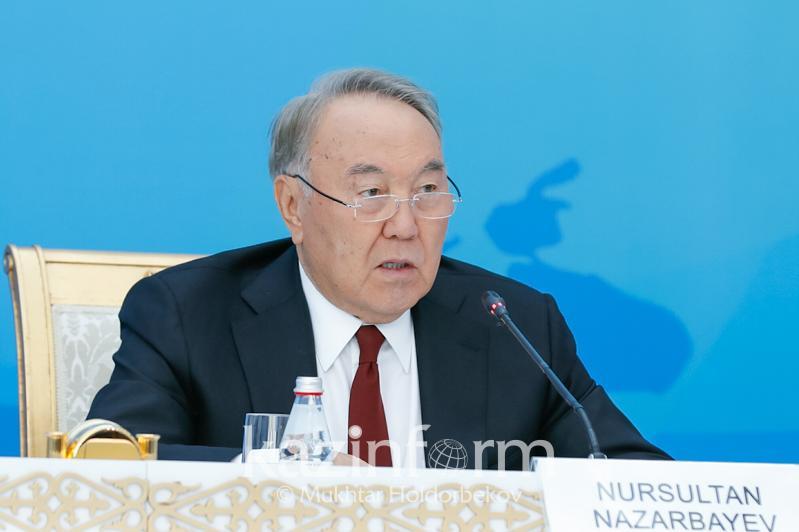 纳扎尔巴耶夫:核大国应消除核试验场基础设施