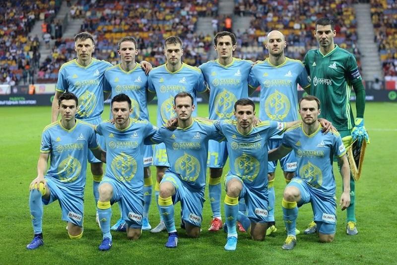 阿斯塔纳足球队成功晋级欧联杯小组赛