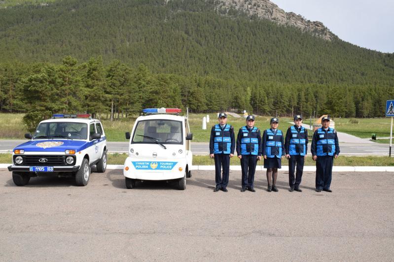 Более 500 туристов обратились за консультацией к сотрудникам акмолинской полиции