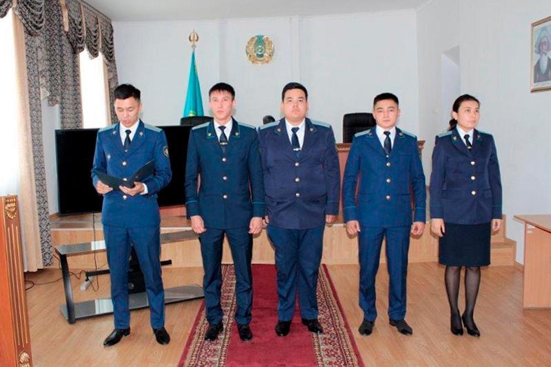 Акмолинских прокуроров наградили ко Дню Конституции