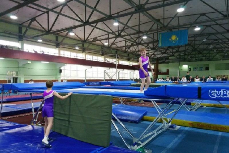 Батуттағы гимнастикадан Қазақстан чемпиондары анықталды