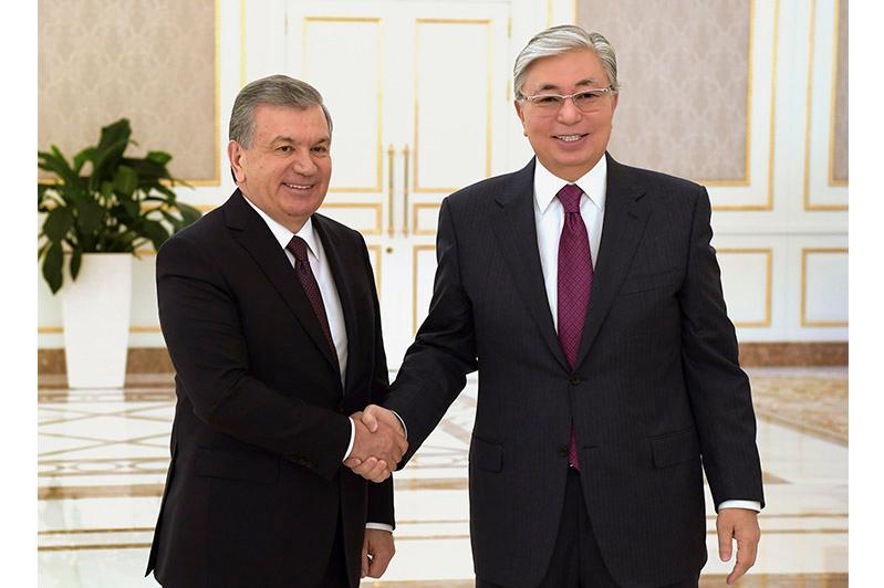 Мемлекет басшысы Шавкат Мирзиёевті Өзбекстанның Тәуелсіздік күнімен құттықтады