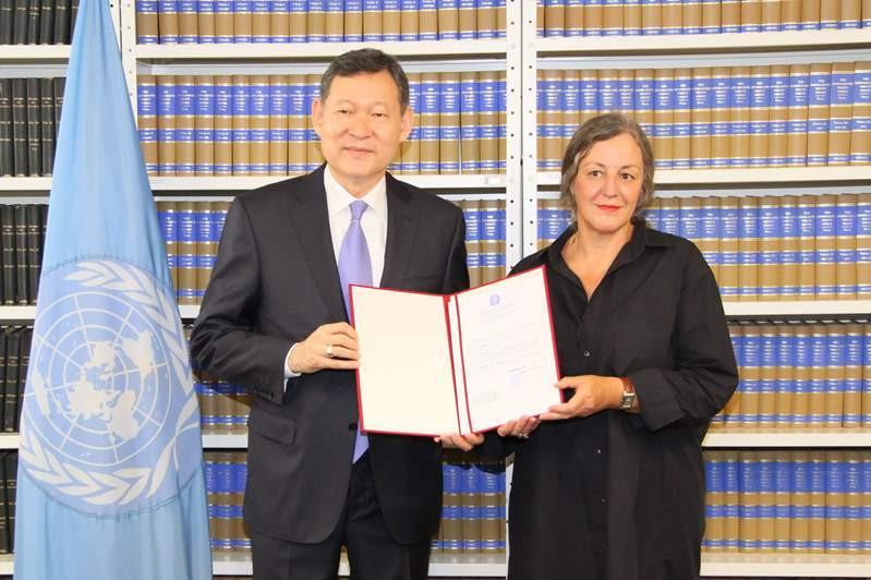 哈萨克斯坦向联合国提交关于批准禁止核武器条约的文件