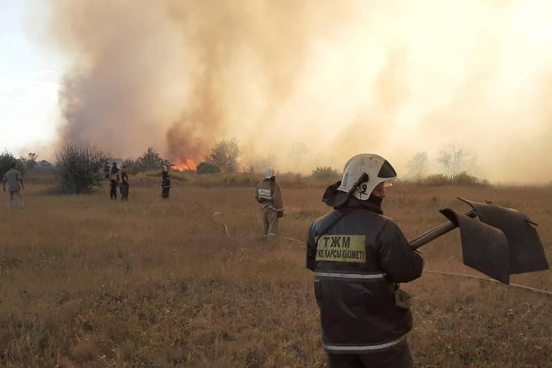 Более 700 дач сгорели в Темиртау