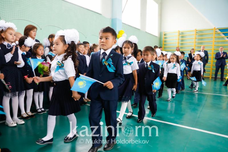 Министры в роли учителей: как в казахстанских школах начался новый учебный год