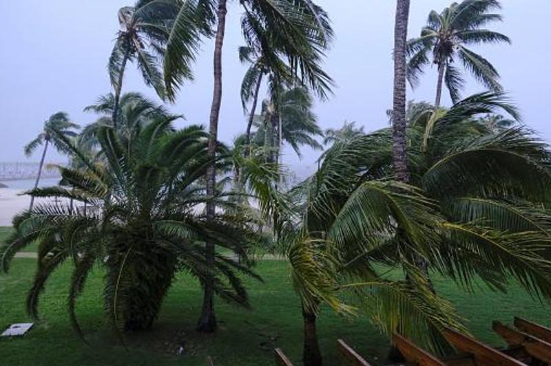 """飓风""""多里安""""已升至最高级别并迫近巴哈马"""