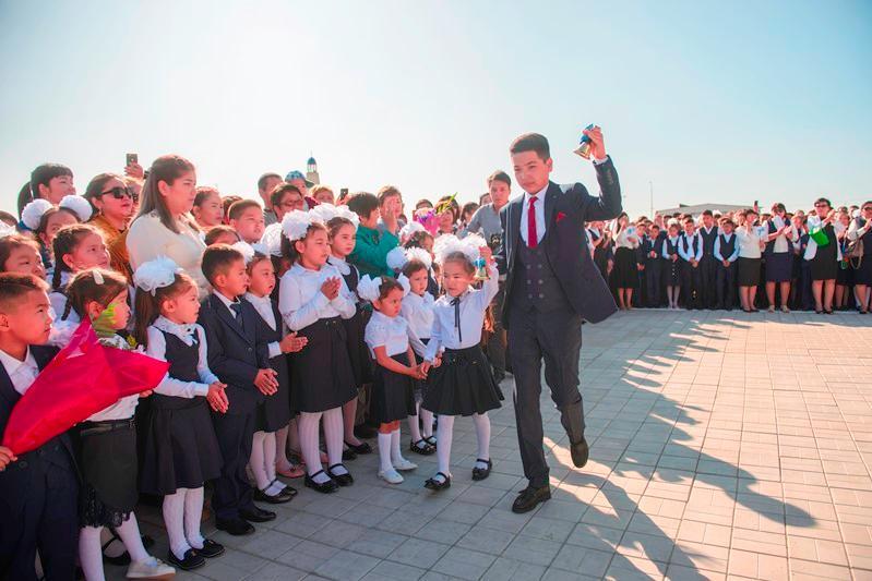 Новая школа на 624 мест введена в эксплуатацию в Атырау