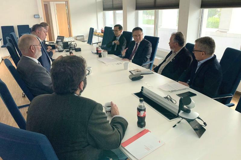 哈萨克斯坦与挪威有意加强货运铁路运输合作