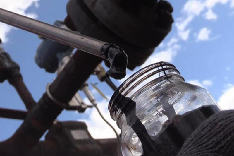 Цена на нефть марки Brent упала до $58,6 за баррель