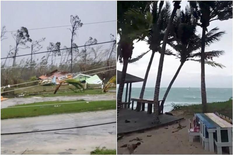 """飓风""""多里安""""致巴哈马至少5人遇难"""