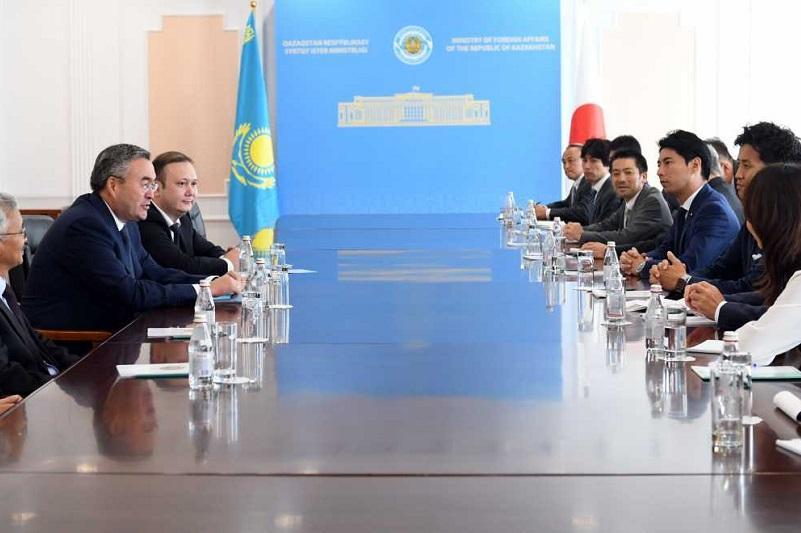 第一副外长会见日本国会议员代表团