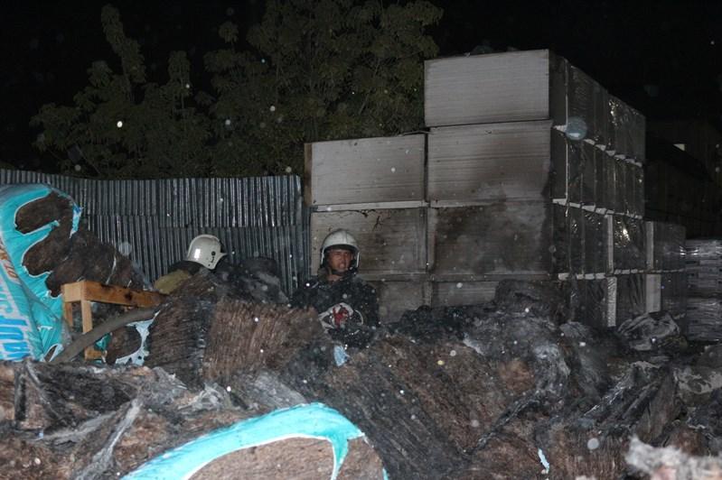 Қызылордада жергілікті серіктестік қоймасынан өрт шықты