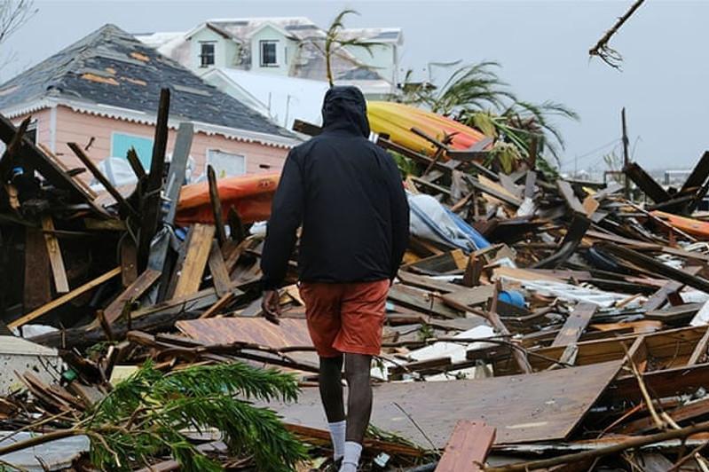 飓风多里安对巴哈马造成70亿美元损失
