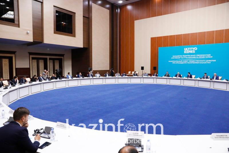 Первое заседание Национального совета общественного доверия пройдет в Нур-Султане