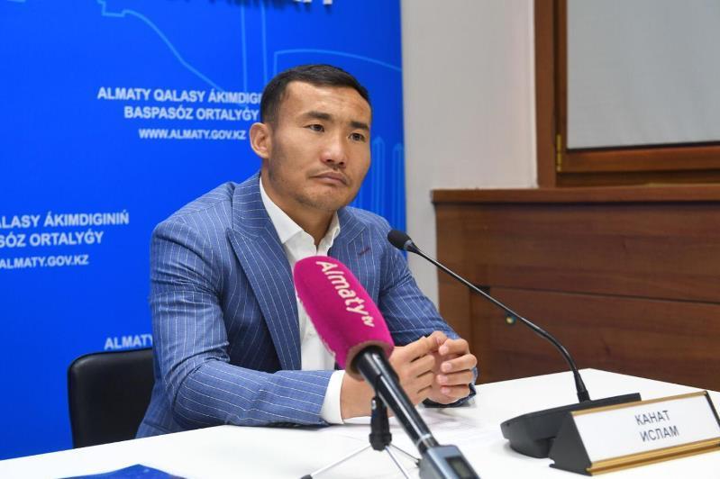 Канат Ислам призвал молодежь принять участие в Almaty Urban Fest