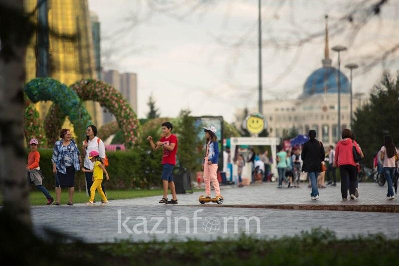今天是哈萨克斯坦家庭日