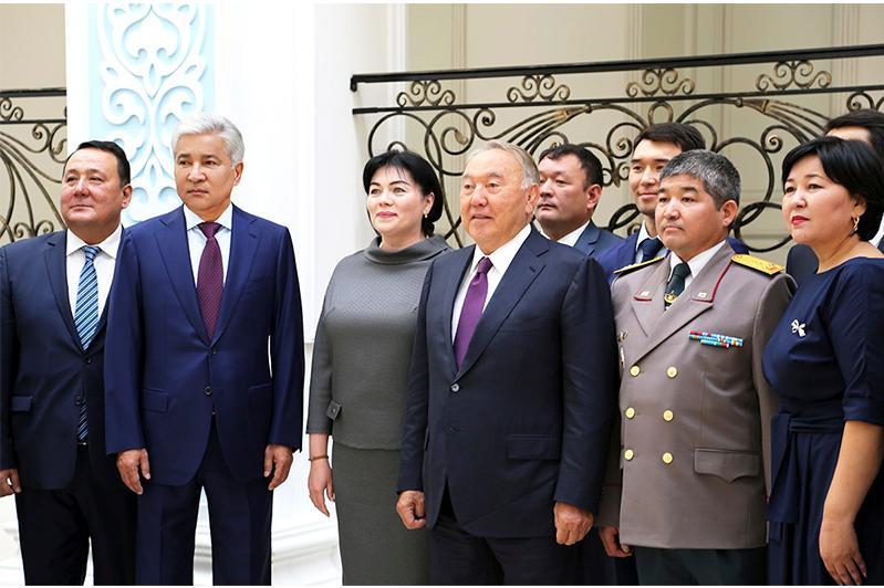 Нурсултан Назарбаев посетил Посольство Казахстана в Москве