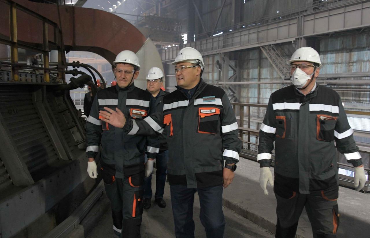 Павлодар облысының әкімі ЖЭО-ның жылу маусымына дайындығын тексерді