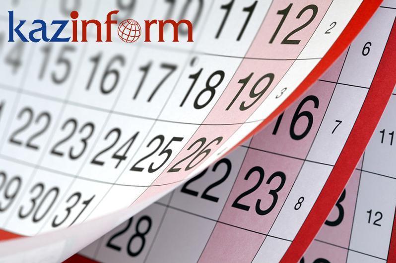 September 8. Kazinform's timeline of major events