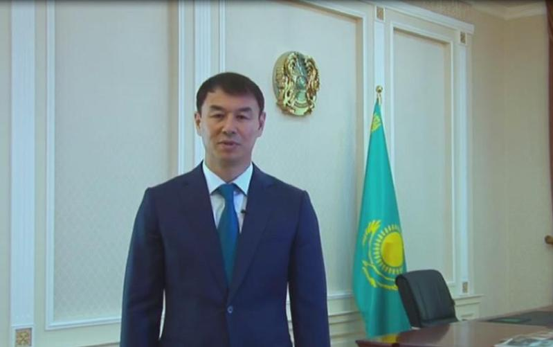 Kazakh Ambassador to Uzbekistan joins #Abai175 challenge